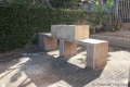 Communal braai at Ibiza self catering holiday apartment in Margate on the KZN South Coast