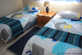 Second bedroom at Ibiza self catering holiday apartment in Margate on the KZN South Coast
