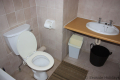Main en-suite at Ibiza self catering holiday apartment in Margate on the KZN South Coast