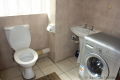 Second bathroom at Ibiza self catering holiday apartment in Margate on the KZN South Coast