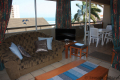 Lounge at Ibiza self catering holiday apartment in Margate on the KZN South Coast